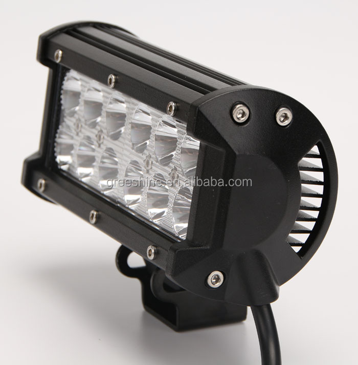 High quality double rows 36W led auto lamp car led light bar