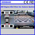 Hot 360 Degree All Round View Car Camera System,360 Degree Camera Bird View System,Car Panoramic DVR Box HD Camera