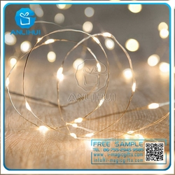 8 Lighting Model Indoor and Outdoor Waterproof 100 LED String Lights Ultra Thin copper wire