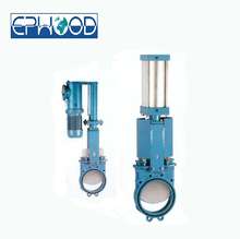 DN50-1200 2~48inch PN0.6-2.5Mpa Zero Leakage Handle wheel Bi-directional Knife Handle wheel Gate valve