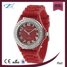 china candy colored jelly watch silicone watch wrist fashion watches cute