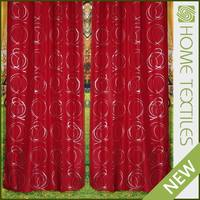 Home textile polyester Luxury modern cafe curtains