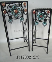 Cheap Good Discount Metal Art and Craft Metal flower stand Metal wire rack