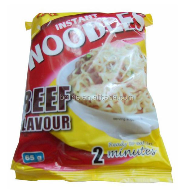 65g per bag fried instant noodle