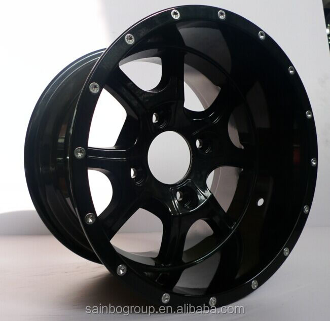 new design ATV wheel 12*7 4*110 -47offset