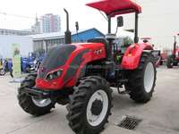 China high quality farm tractor 75hp 4wd tractor of QLN754
