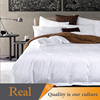 Modern fashion double size bed cover for hotel used