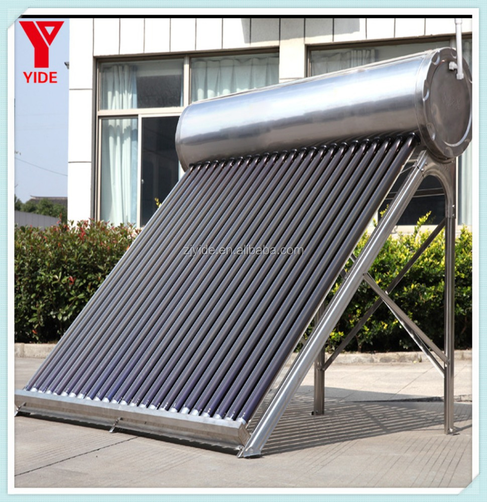 High Standard Compact Non-pressurized Jain Solar Water Heater