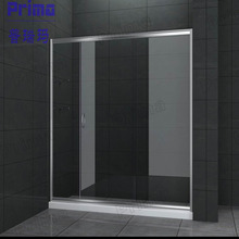 Stainless Steel Fitting Glass Sheet Design For Steel Glass Shower Enclosure With Acrylic Base Plate Steel Glass Fence