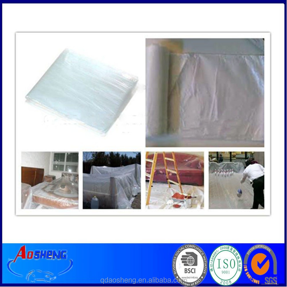 Clear HDPE Floor Protection Plastic Sheet