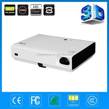 2014 Hot selling 3800 ansi lumens 1280x800pixels LED pocket mini built-out android wifi DLP 3D projector,perfect for home