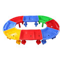 Preschool furniture plastic colorful cheap kids water sand table