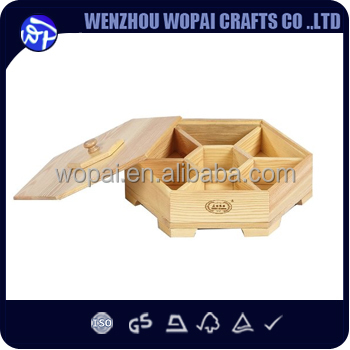 wooden creative box wooden date box with lid natural wood unfinished