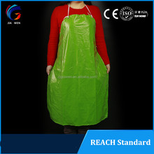 Customized reusable waterproof food chemical industrial pvc plastic aprons manufacturer