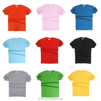 custom short sleeve cotton fashion plain t shirt