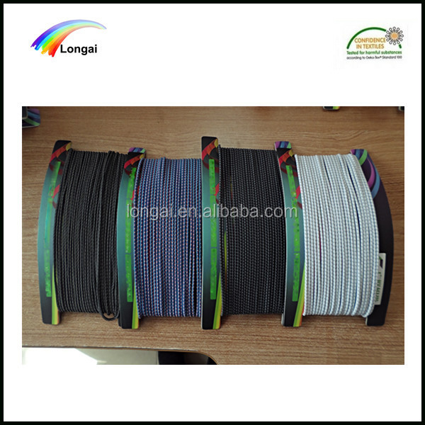 Free samples top quality cheap elastic rubber polyester rope