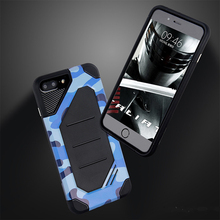for iPhone 6 Camouflage Hybrid TPU+PC Cell Phone Case for iPhone 6s