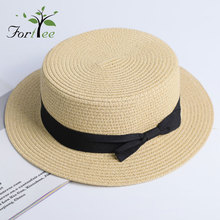 Promotional wholesale blank oem summer cool visor hats fashion paper straw surf hat