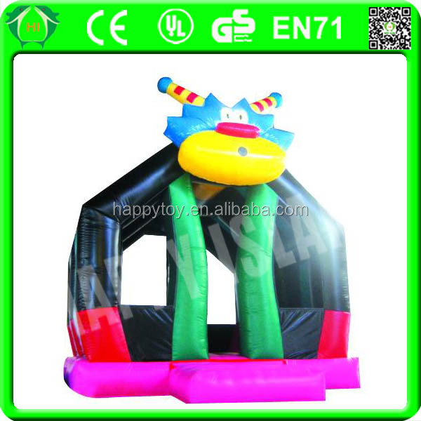 HI CE hot in summer high quality crazy inflatable robot bouncer for sale