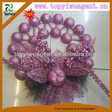 Christmas Red Wreath Flower and Chiristmas products AGENT