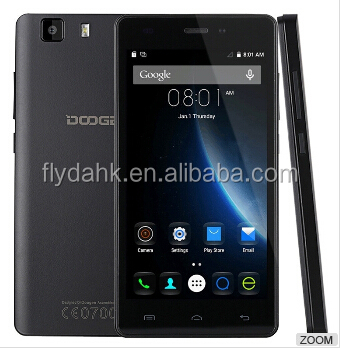 5.0 Inch HD Doogee X5 1280*720 pixels MTK6580 Quad Core Android 5.1 Mobile Phone