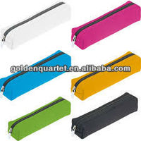 different polyester fabric kid pencil case for promotion( SA8000, BSCI, ICTI social audit factory)