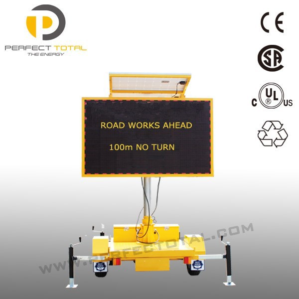 Trailer Mounted VMS board