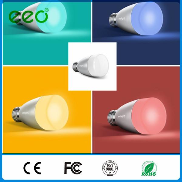 smart led light bulb 6w mi light wireless led bulbs for home smart. Black Bedroom Furniture Sets. Home Design Ideas