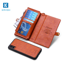 [KAYOH] With Credit Card Slot Back Cover Phone Case For Samsung Galaxy s8 plus, Card Slot Case For Samsung ,Mobile Phone Shell
