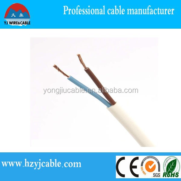 Middle East , africa market copper clad aluminum wire electric price 2*1.5mm 2.5mm 4mm made in china