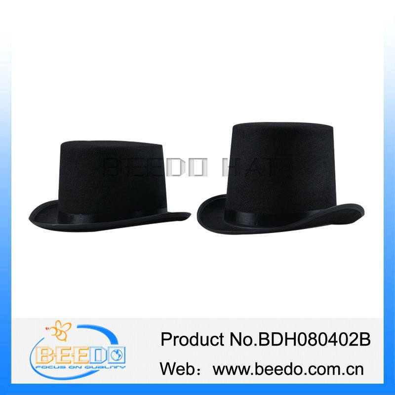 Black magician steampunk stovepipe top hat