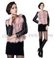 CX-G-B-170B New Design Hot Sale Fox Fur Fashionable Women Fox Fur Coat