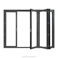 factory sound insulation aluminum garden accordion patio doors