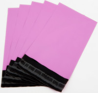 Wholesale pink poly mailers/pink plastic envelopes/ pink mailing bags