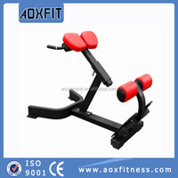 Adjustable Roman Chair/Back Extension /Hot Commercial Gym Equipment /Body Building Machine AX9636