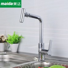 Professional manufacturer of brass body kitchen faucet