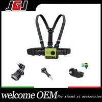 Camera Chest Harness Camera Chest Belt Chest Strap + J Hook + Screws + Adapter for xiaomi yi go pro hero 3+ 3 4 secsion SJ4000