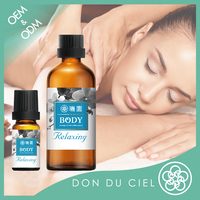 Best relaxing body spa oil massage for orchid oem essential oil