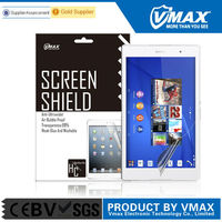 8'' Tablet PC Clear Self Repair Anti-Radiation remove air bubble screen protector factory for Sony X peria Z3 Tablet Compact