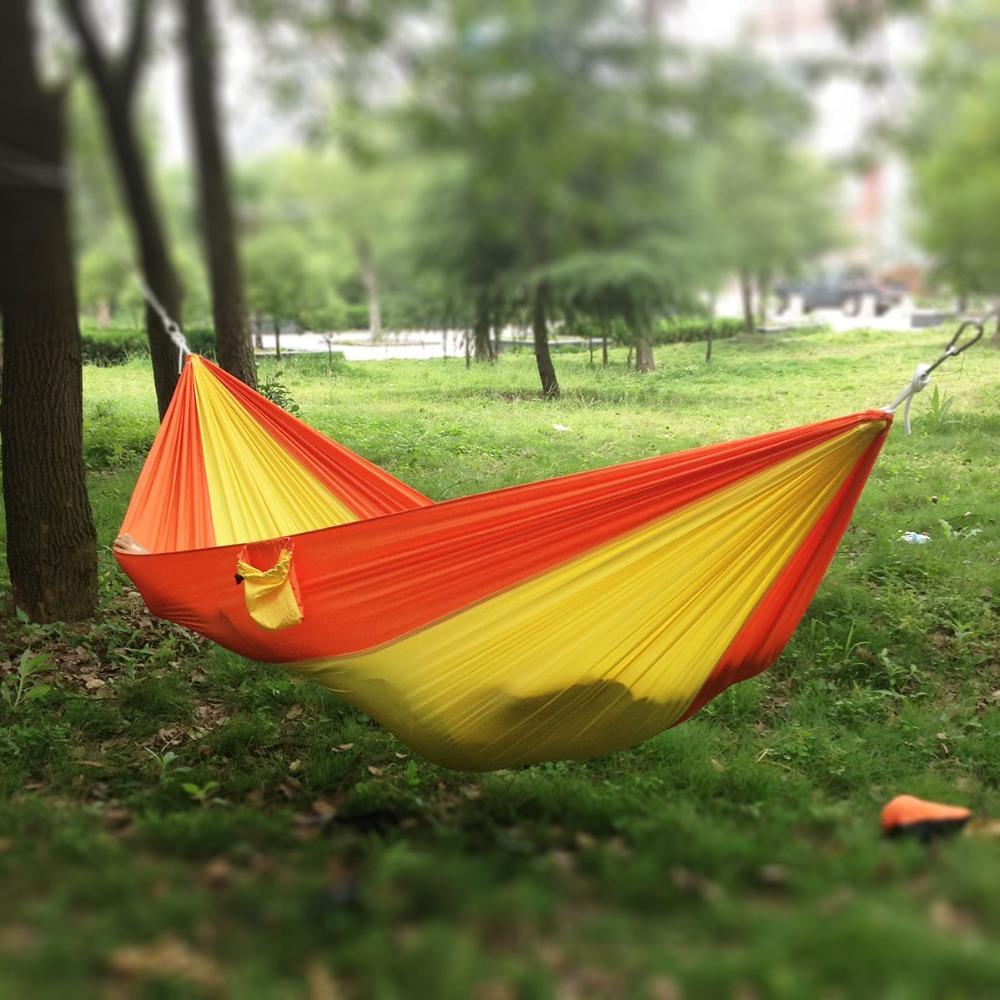 100% Nylon Fabric Hammock For Camping - Buy Fabric Hammock For Camping ...