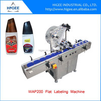 auto adhesive labeling machine labeling cosmetic tubes machine