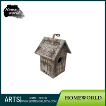 Outdoor Cheap Eco-friendly Mini Crafts New Wooden Bird House Wholesale