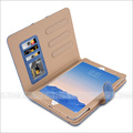 Suede Leather Smart Rotating wallet Flip Case Cover For iPad Air and Air 2