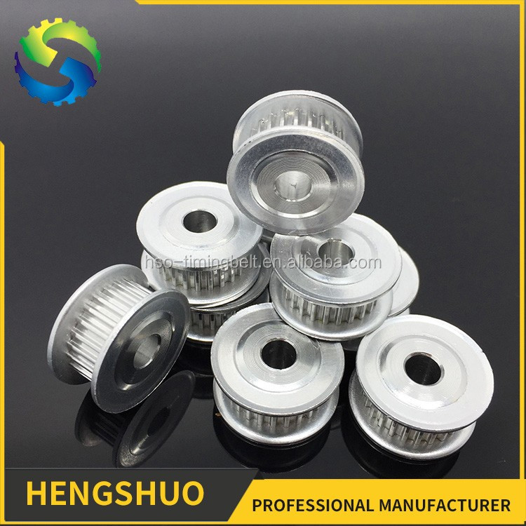 HENGSHUO OEM aluminum standard T2.5 timing belt pulley with 15 tooth