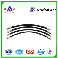 High Pressure High Tensile Steel Wire Spiraled Rubber Hose Made of Synthetic Rubber and Wire Reinforcement