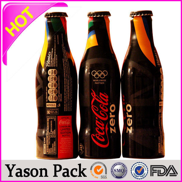Yason shrink wrapping plastic bottle labels tactile triange warning labels/flavor labels for spice variable image digit