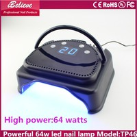 European most popular powerful 64w best uv light for gel nails