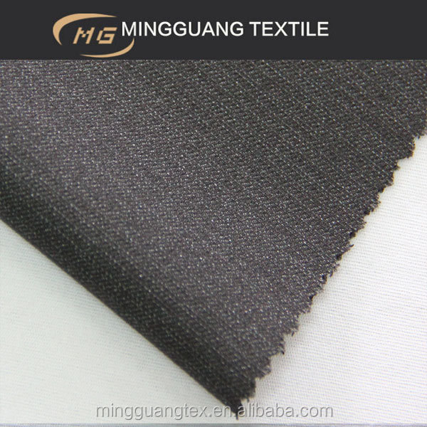 Hotel staff uniform plain tr 84/16 fabric material for making dresses