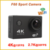 2.0'' Inch waterproof extreme 4K 15fps allwinner v3 sport action camera sj4000 mini wifi nopro action camera night vision F60
