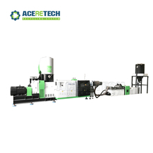 post industrial in house production clean PE film granulating recycling machine